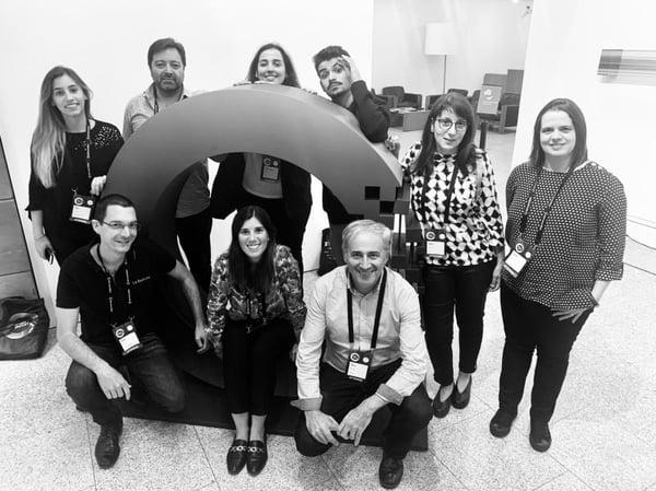 Figure 5 - Closing photo with La Redoute.io Teams & Raquel Carvalho, Marketing Manager @ Syone